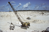 Phosphate mining. Nauru. The Pacific.