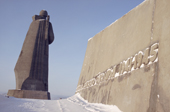 The 'Alyosha' monument, a large concrete statue dedicated to Russian soldiers who fought in WW2. Murmansk, NW Russia. 2005